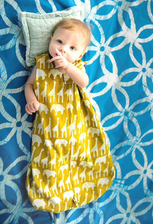 Baby Sleep Bag Sahara Mustard Fashion