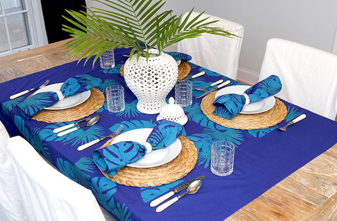 For the Home Table Top Kakum Navy