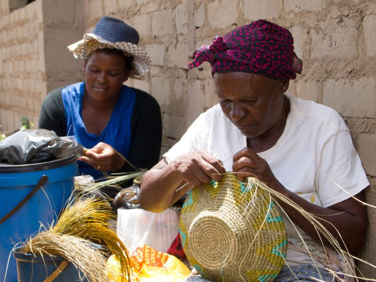 basketry and handcraft by women weavers