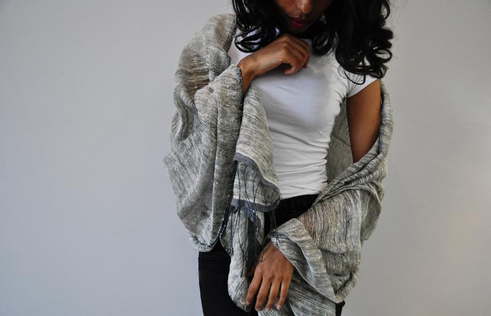 Scarves, shawls, houseware
