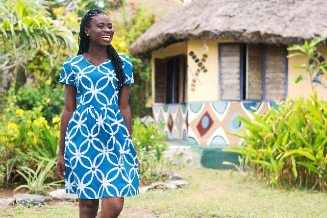 Womens DressVerona UnityIndigo Fashion