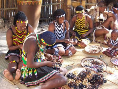 African Hair clips